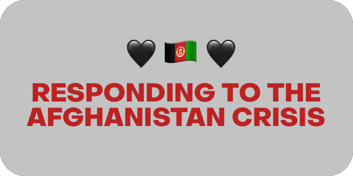 Responding to the Afghanistan Crisis