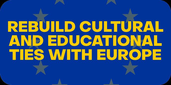 Restoring Cultural Ties to Europe