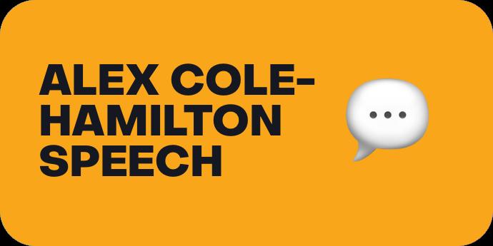 Alex Cole-Hamilton Speech
