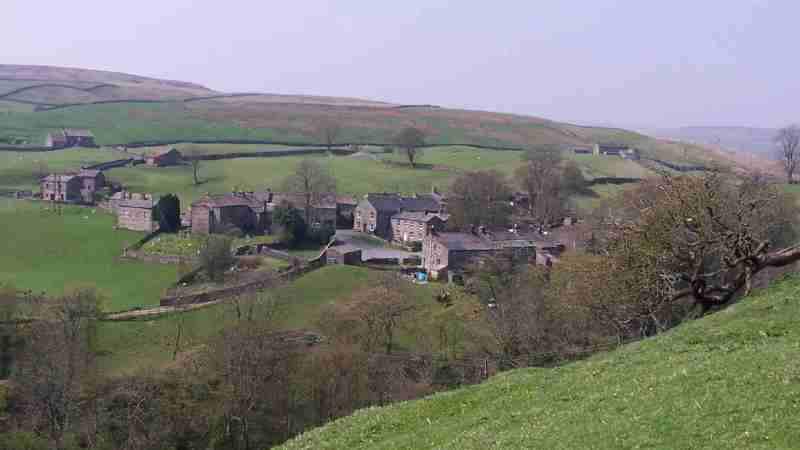Top UK Summer Destinations: Keld on the Pennine Way north of Leeds in the Yorkshire Dales