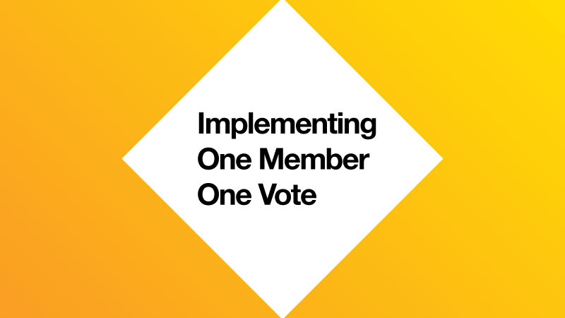One Member One Vote