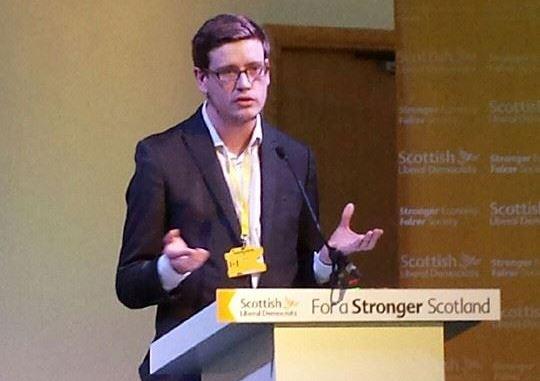 LYS at Scottish Lib Dem Conference