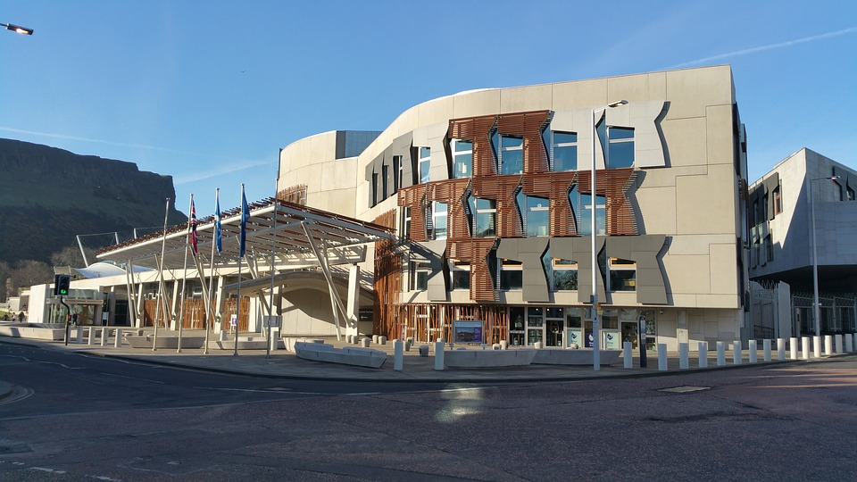 Scottish Parliament (Pixabay CC0 license)