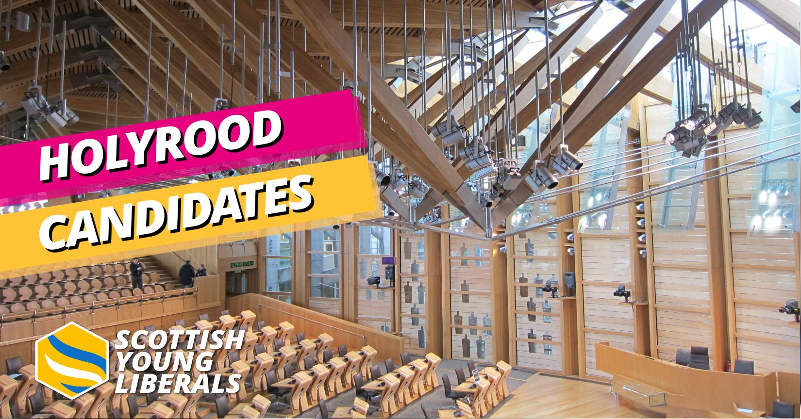 Scottish Parliament Candidates