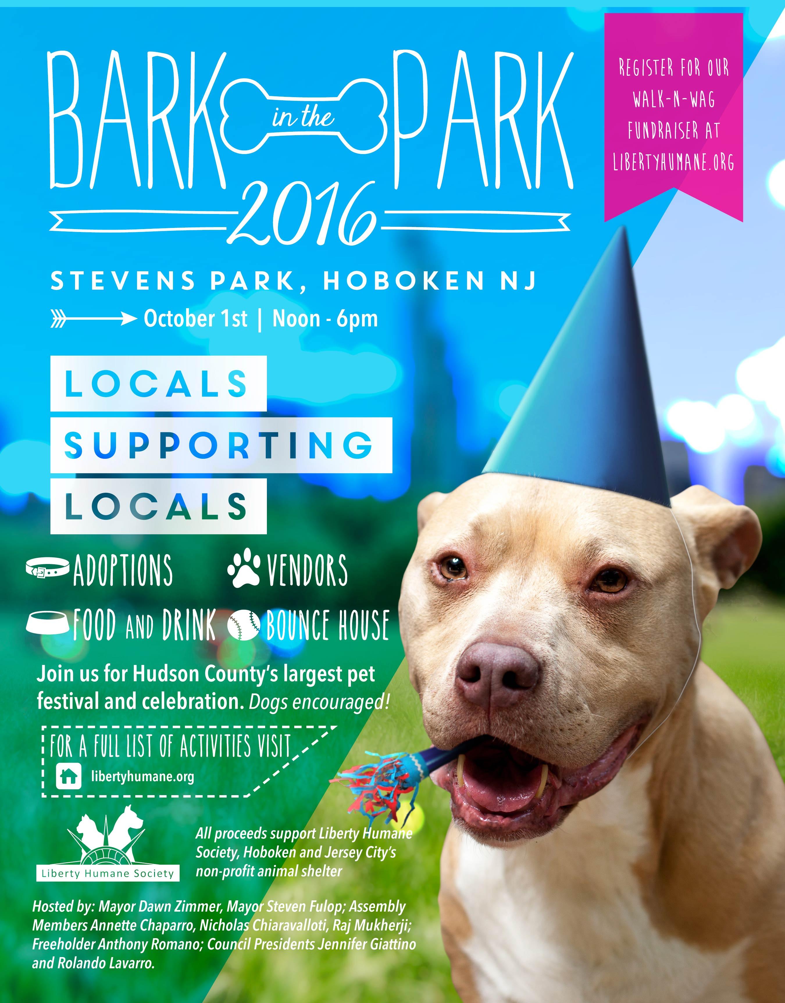 Bark in the Park 2016 - Liberty Humane Society