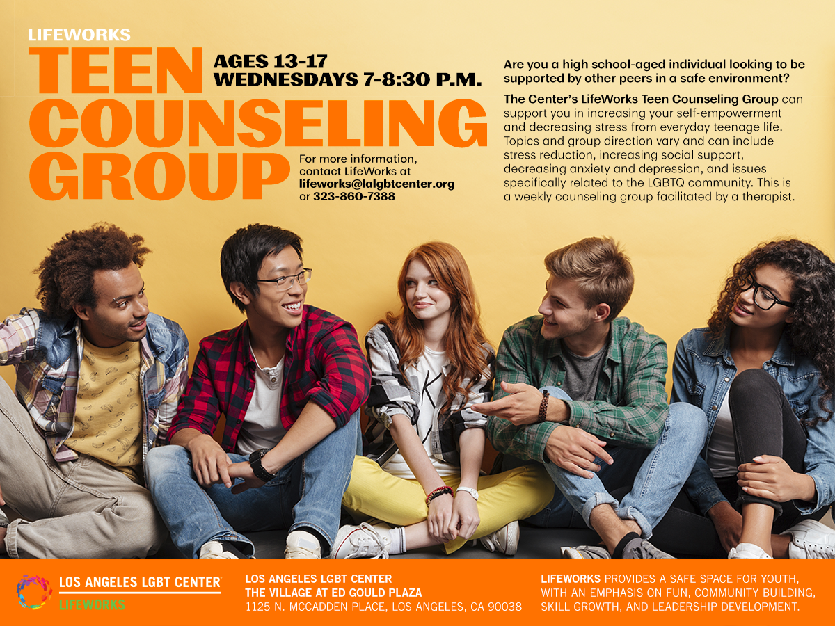 Teen Counseling Group Ages 13-17