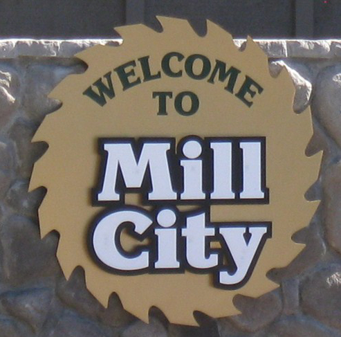 Mill City sign