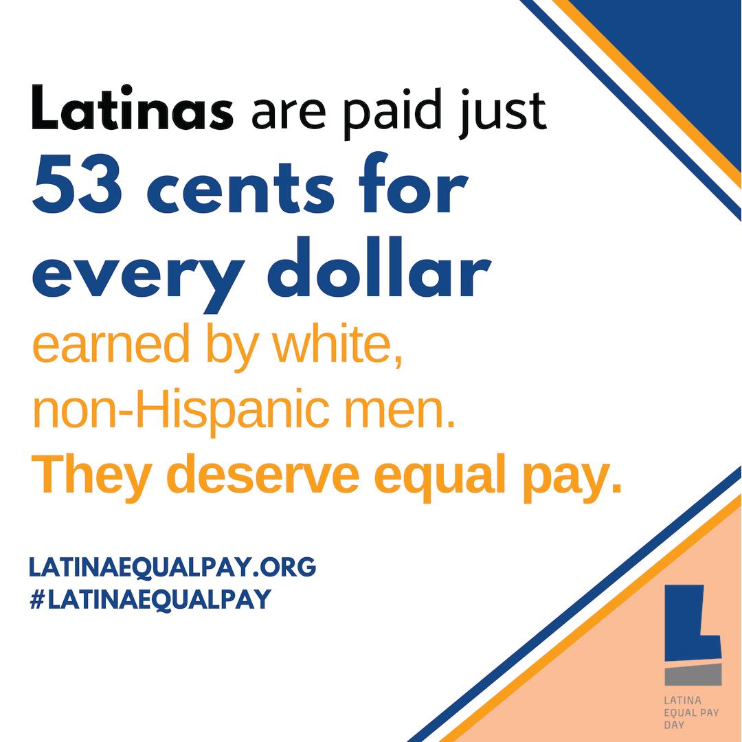Latina Equal Pay Statistic