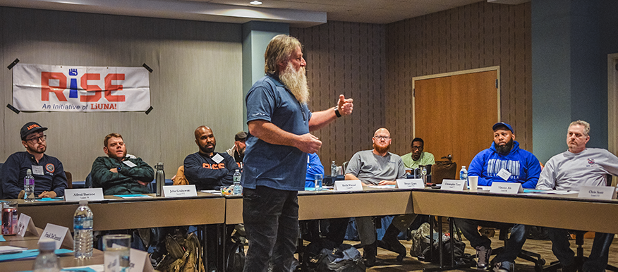 Retired LEROF Organizer Rick Pullen discusses salting with RISE Champions