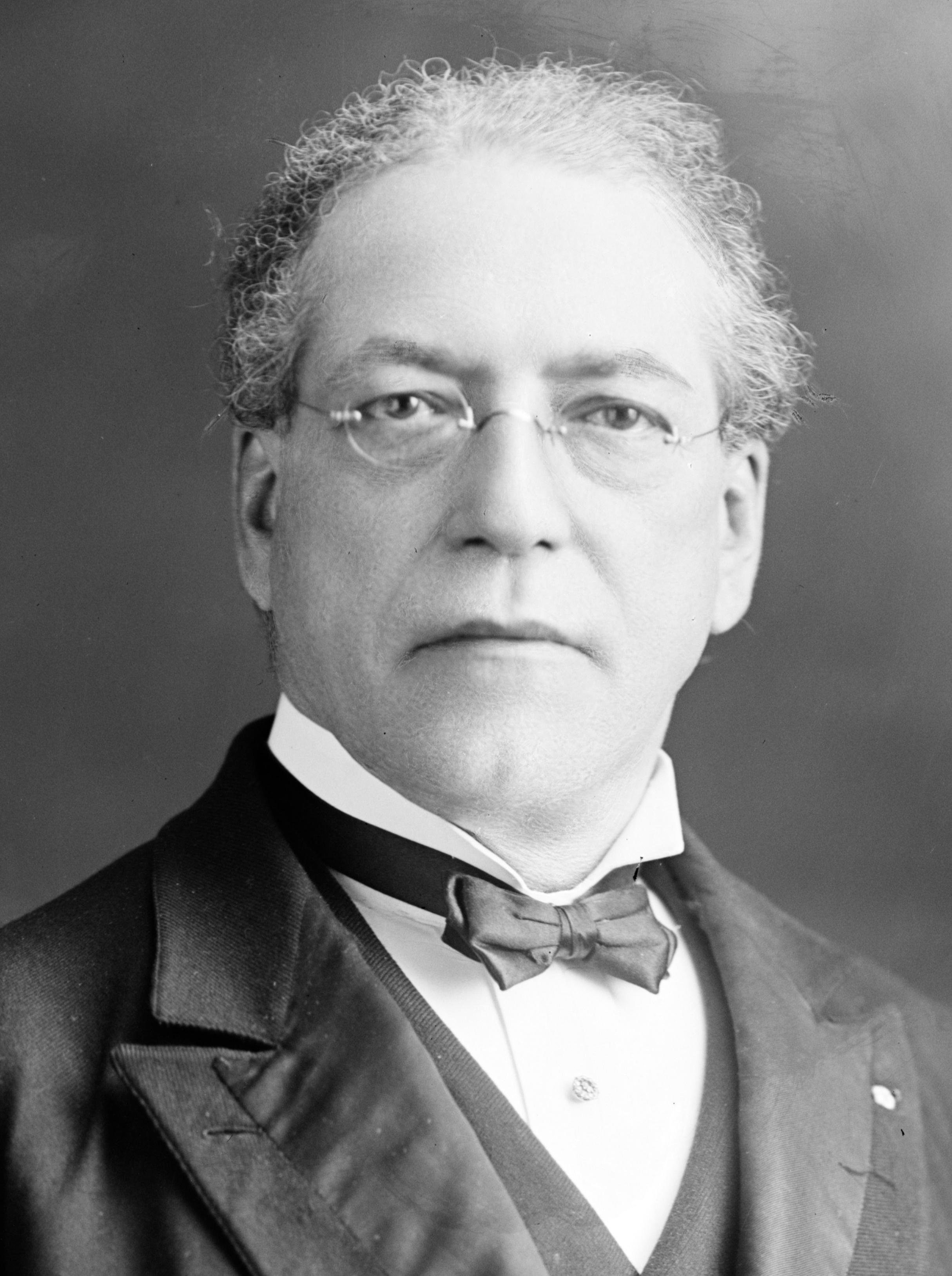 Samuel Gompers, fundador de la Federación Estadounidense del Trabajo (AFL). (Harris & Ewing/Biblioteca del Congreso)