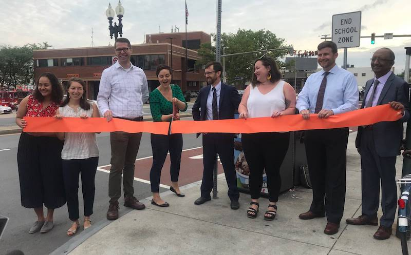Brighton Ave Ribbon-cutting Ceremony