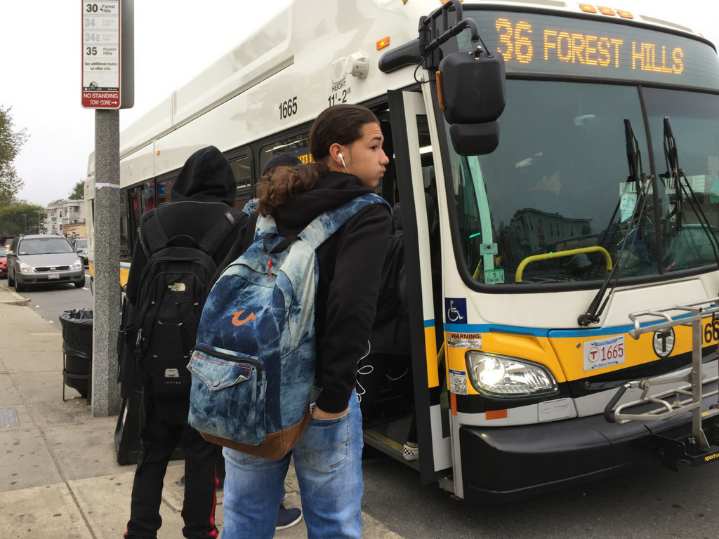 MBTA_route_35_bus_at_Forest_Hills__November_2015.JPG