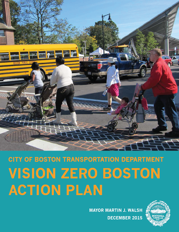 VisionZero Action Plan Cover