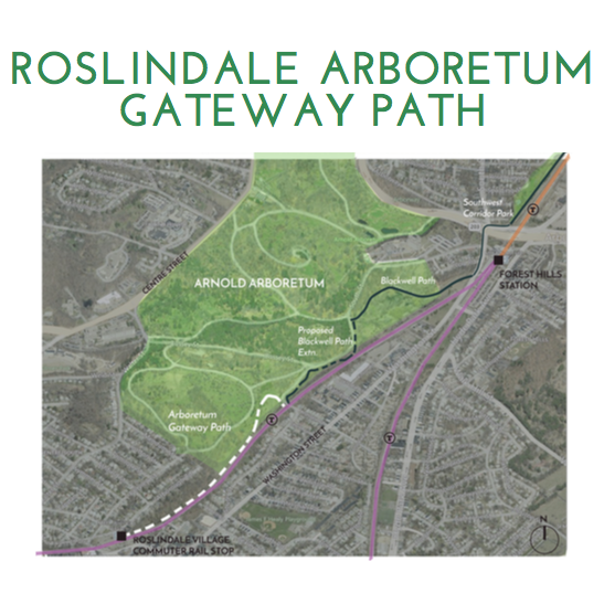 Cover of the Roslindale Arboretum Gateway Path study
