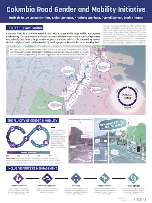 Columbia Road Gender and Mobility Initiative