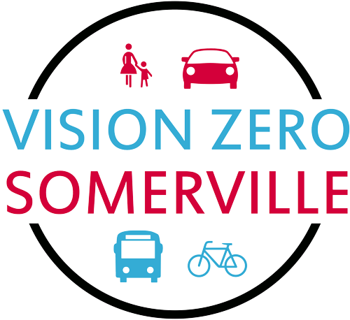 A logo for Vision Zero Somerville
