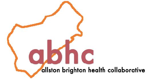 logo for the Allston Brighton Health Collective