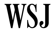 Image result for wall street journal logo png
