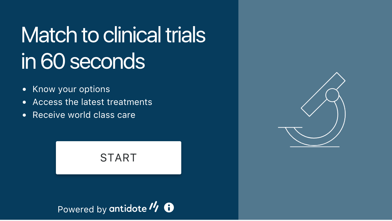 antidote clinical trial finder