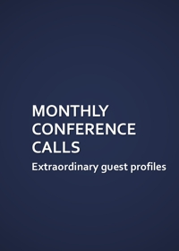 Monthly Conference Calls