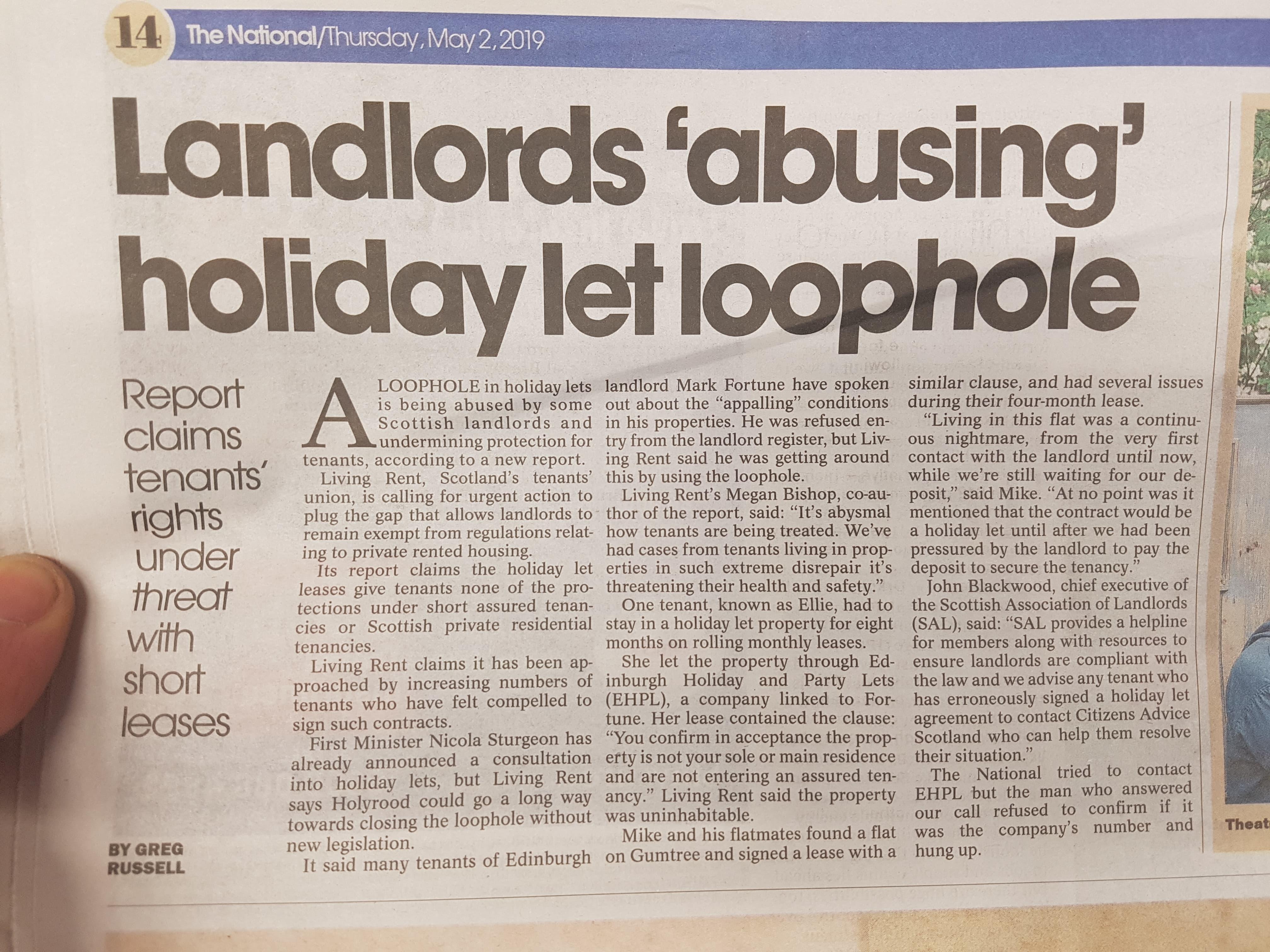 Sham Holiday Lets - Living Rent
