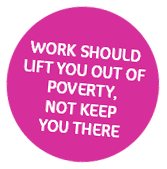 Living Wage for Families. Work Should lift you out of poverty, not keep you there.