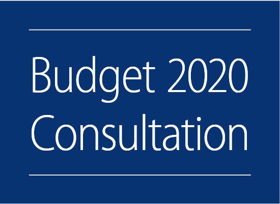 Budget 2020 consultation