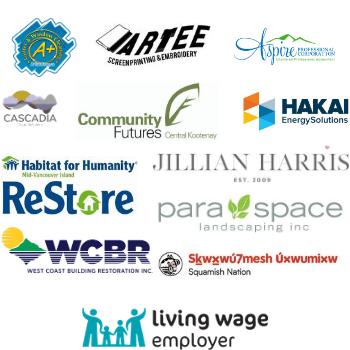 July Living Wage employers