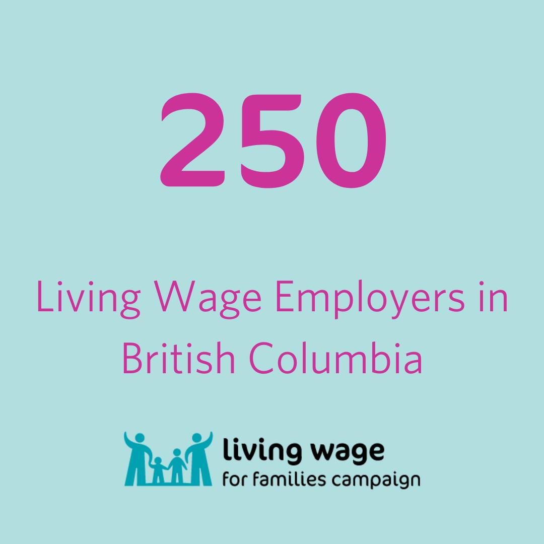 250 Living Wage Employers