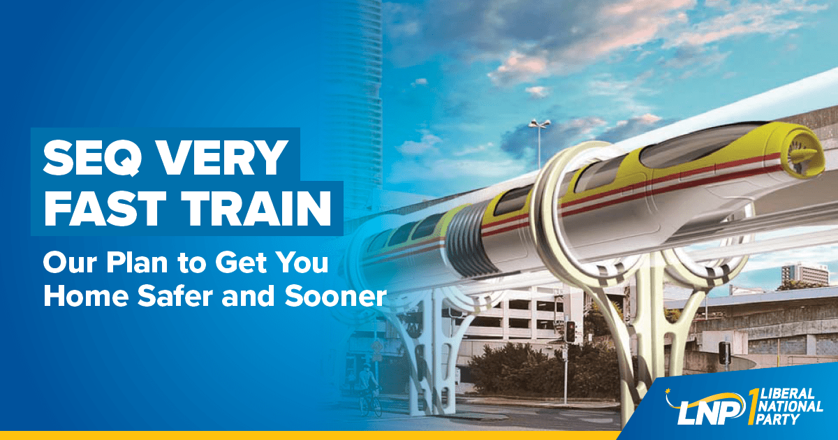 SEQ Very Fast Train Shareable