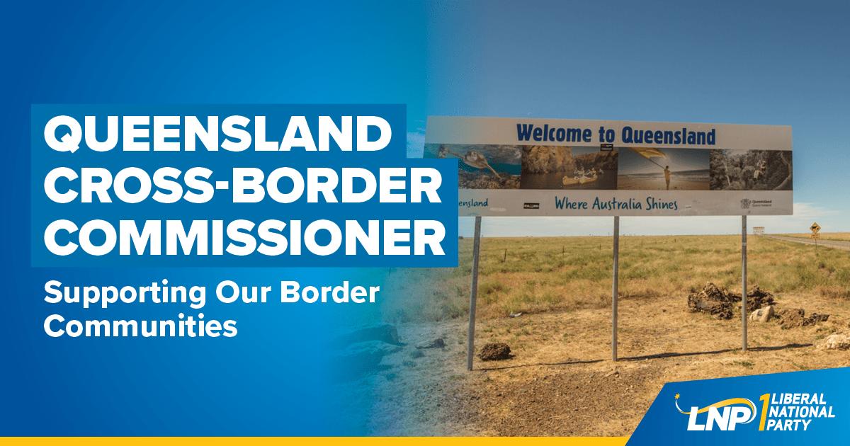 Queensland Cross-Border Commissioner Shareable