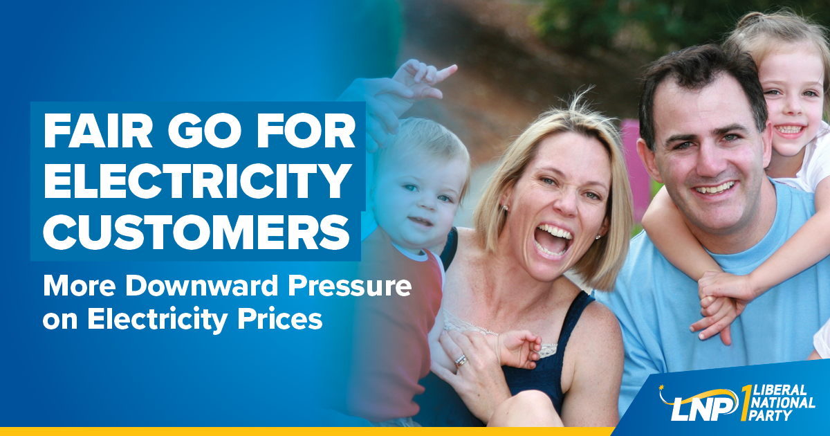 LNP to give everyday Queenslanders a voice on electricity boards Image