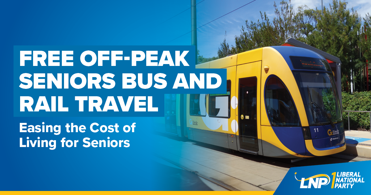 Free Off-Peak Seniors Bus and Rail Travel Shareable