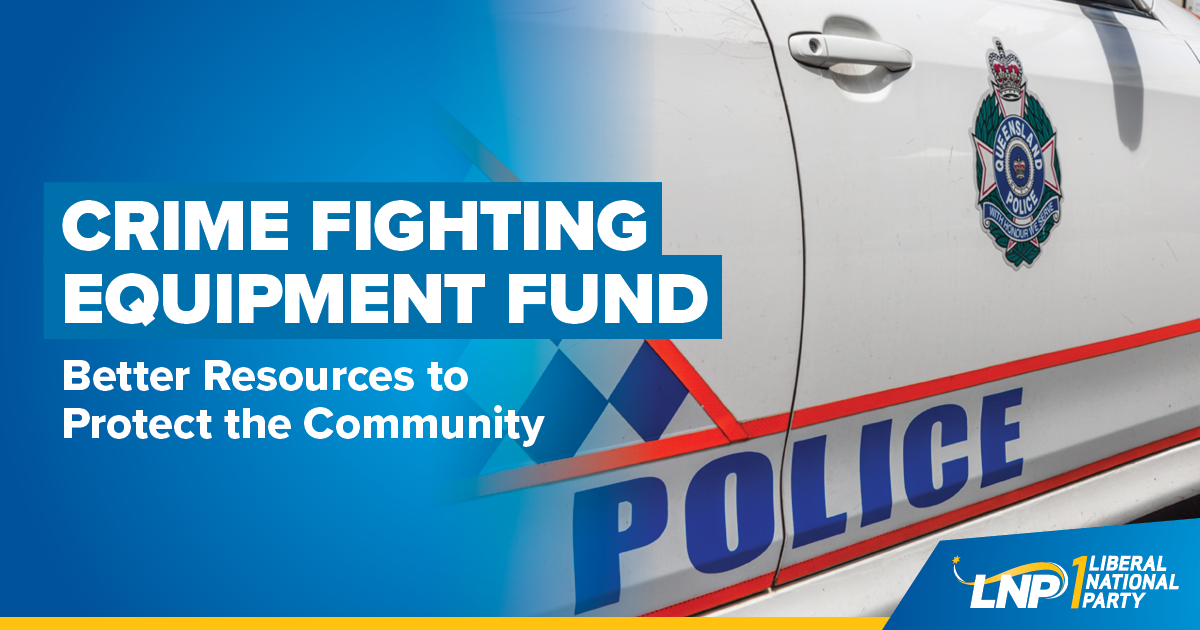 Crime Fighting Equipment Fund Shareable