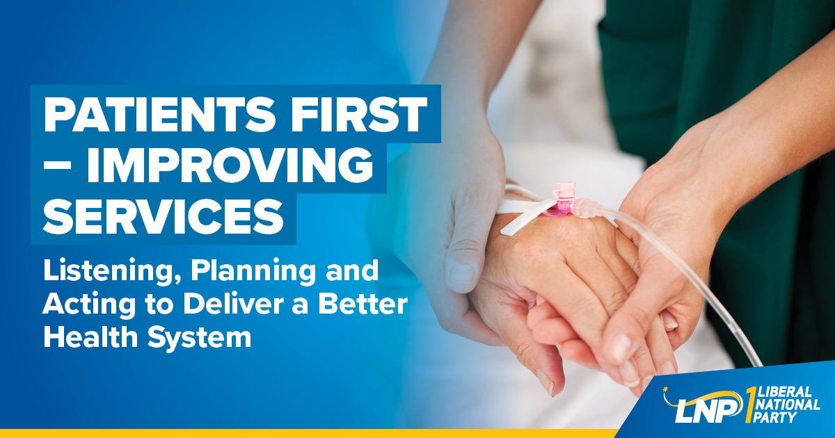 Patients First - Improving Services Shareable