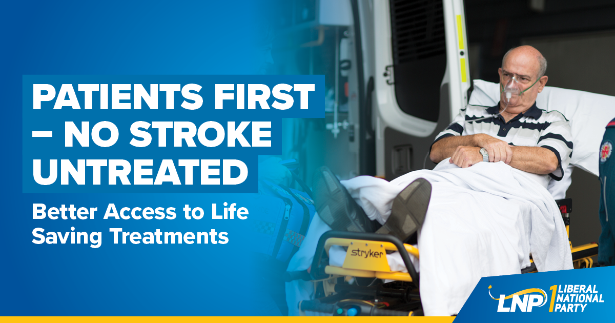 Patients First - No Stroke Untreated Shareable