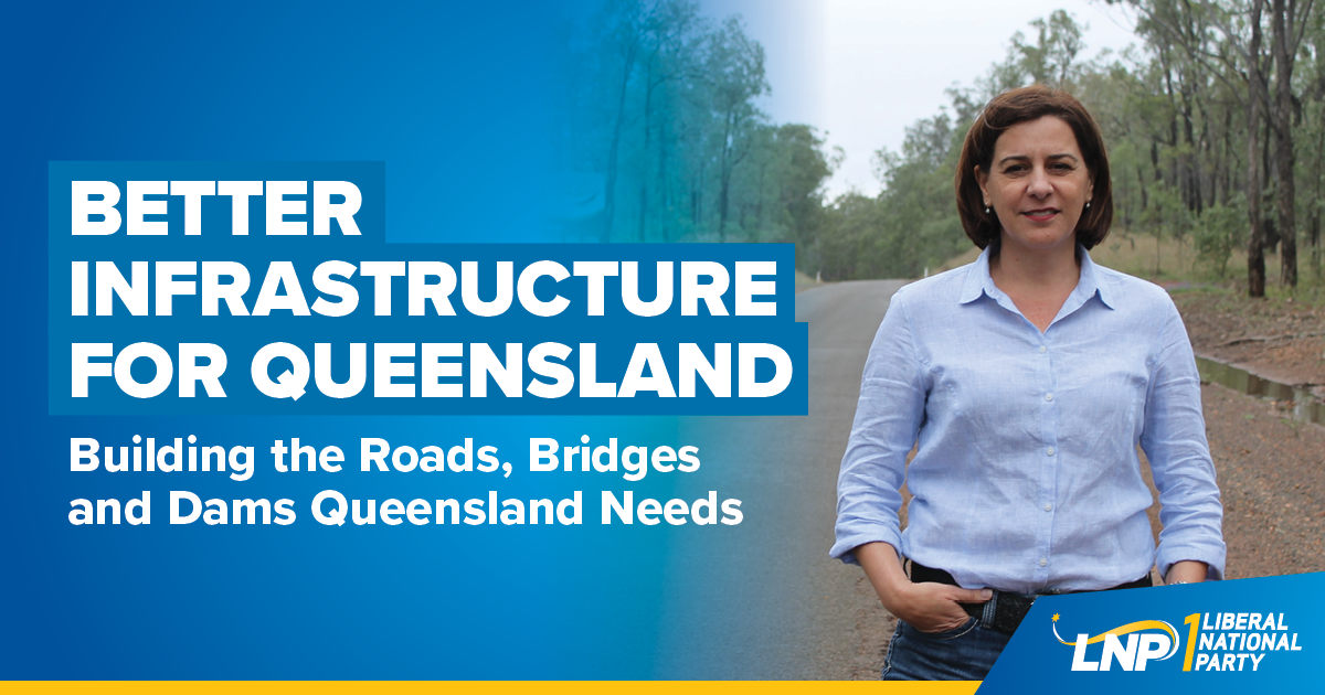 Better Infrastructure for Queensland Shareable