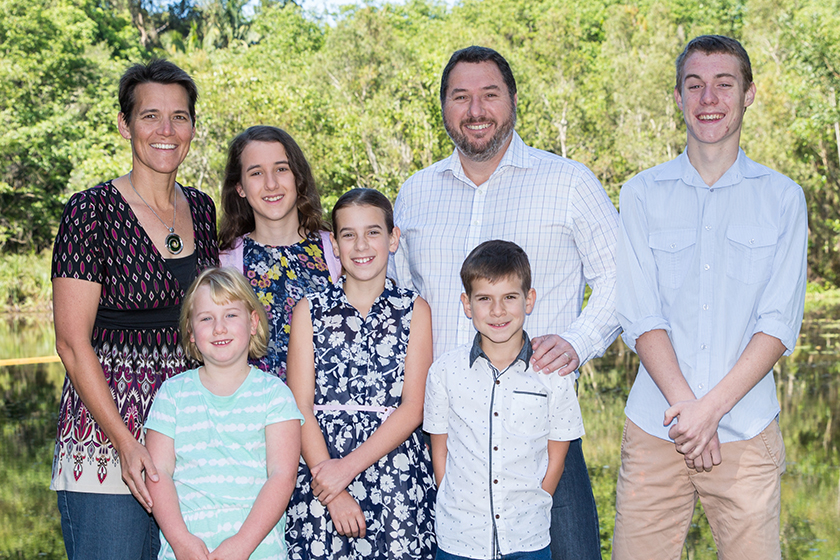 Andrew Powell Family