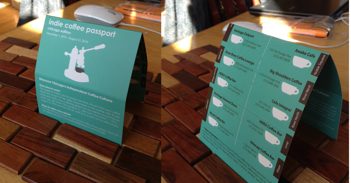 Indie Coffee Passport