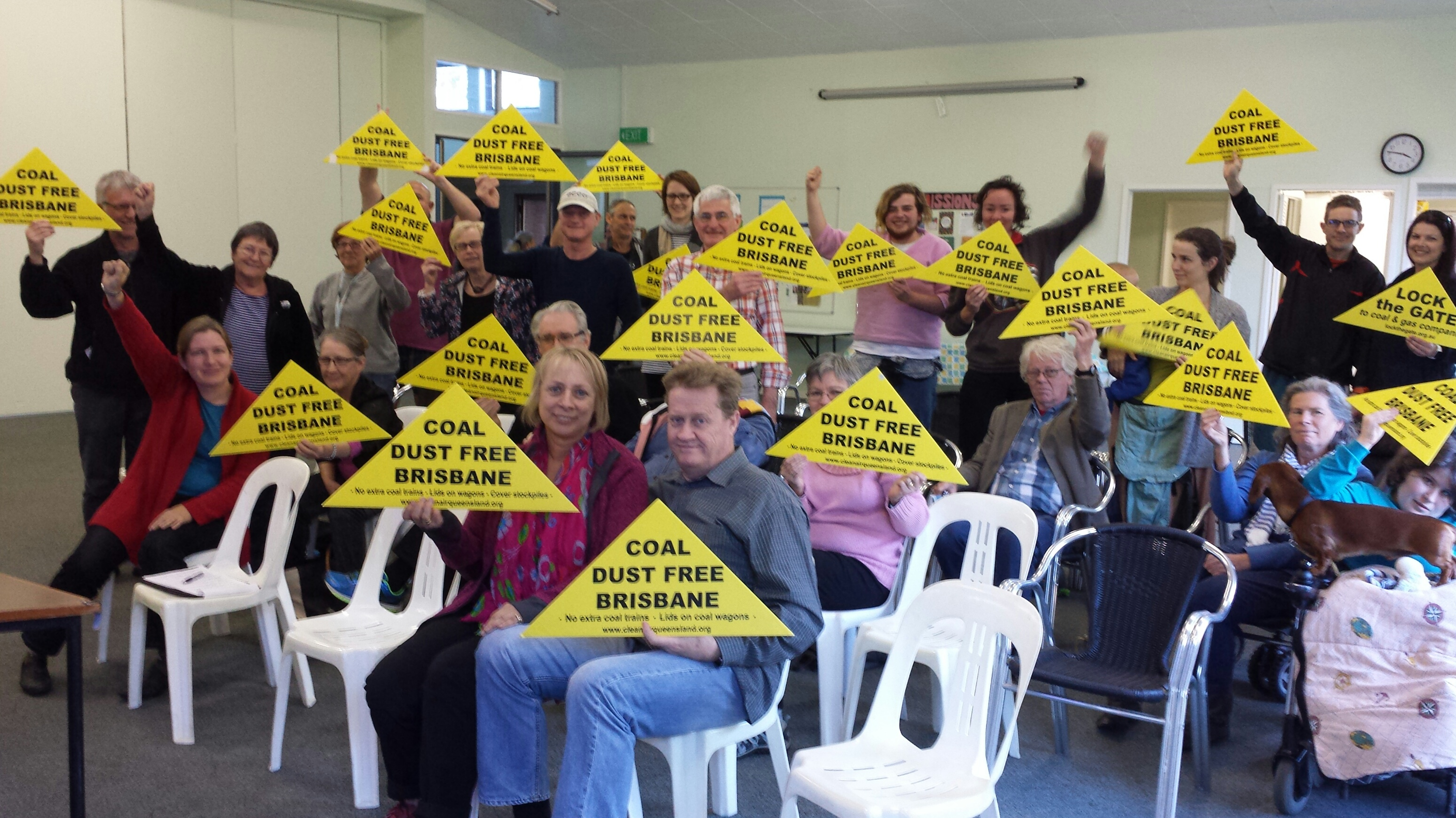 Fairfield residents vote to go coal dust free