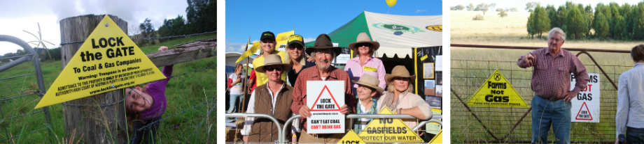 communities lock the gate, coal mining, australia, fracking, coal seam gas