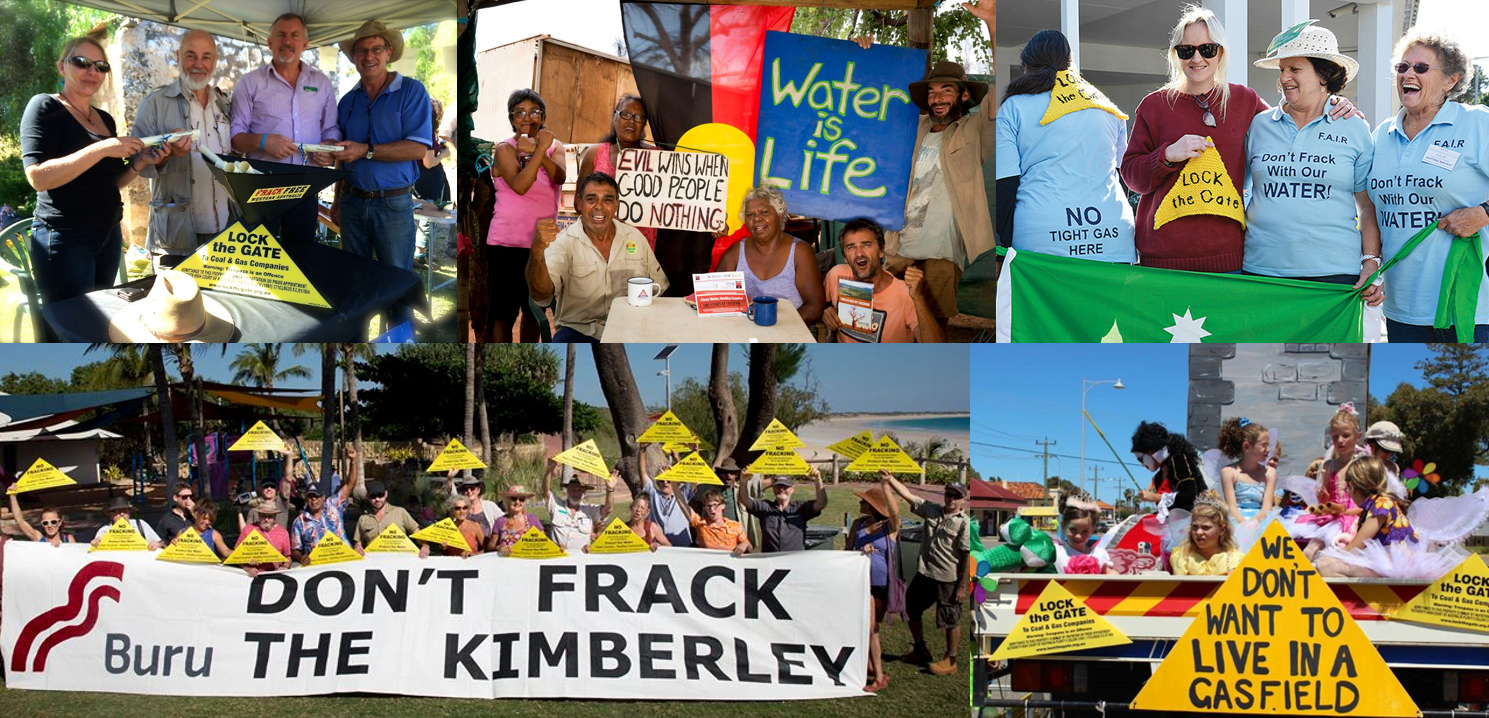 frack free wa, gasfield free communities, fracking, lock the gate alliance