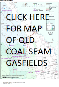 coal seam gas wells, gasfields, queensland, australia