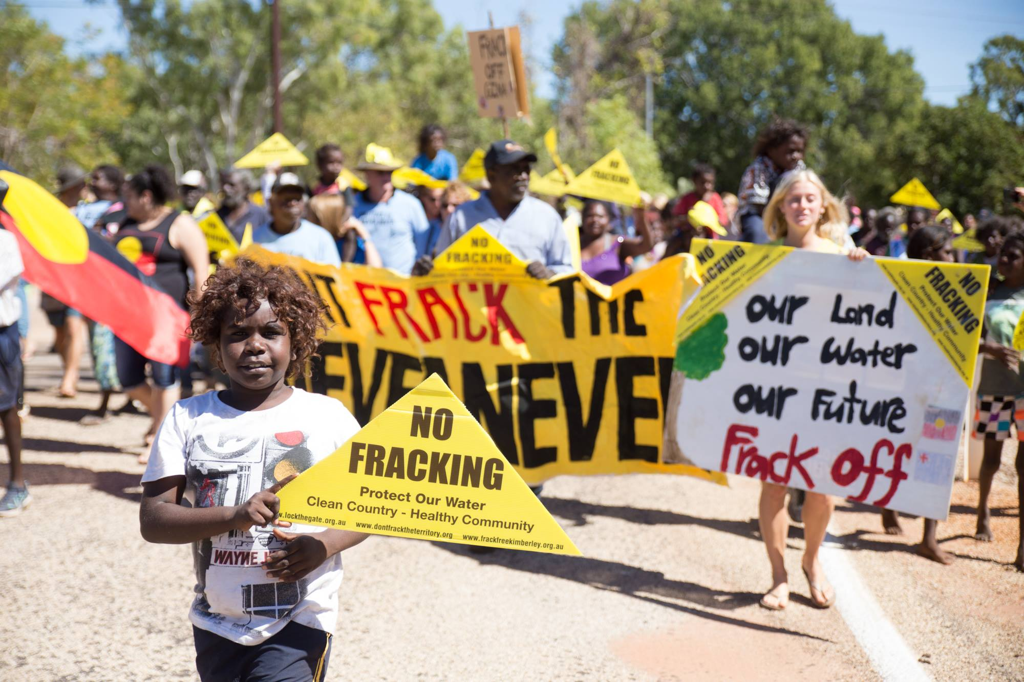 Frack Free NT Petition