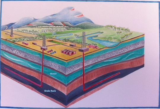 Fact Sheet – Shale and Tight Gas Extraction Logo