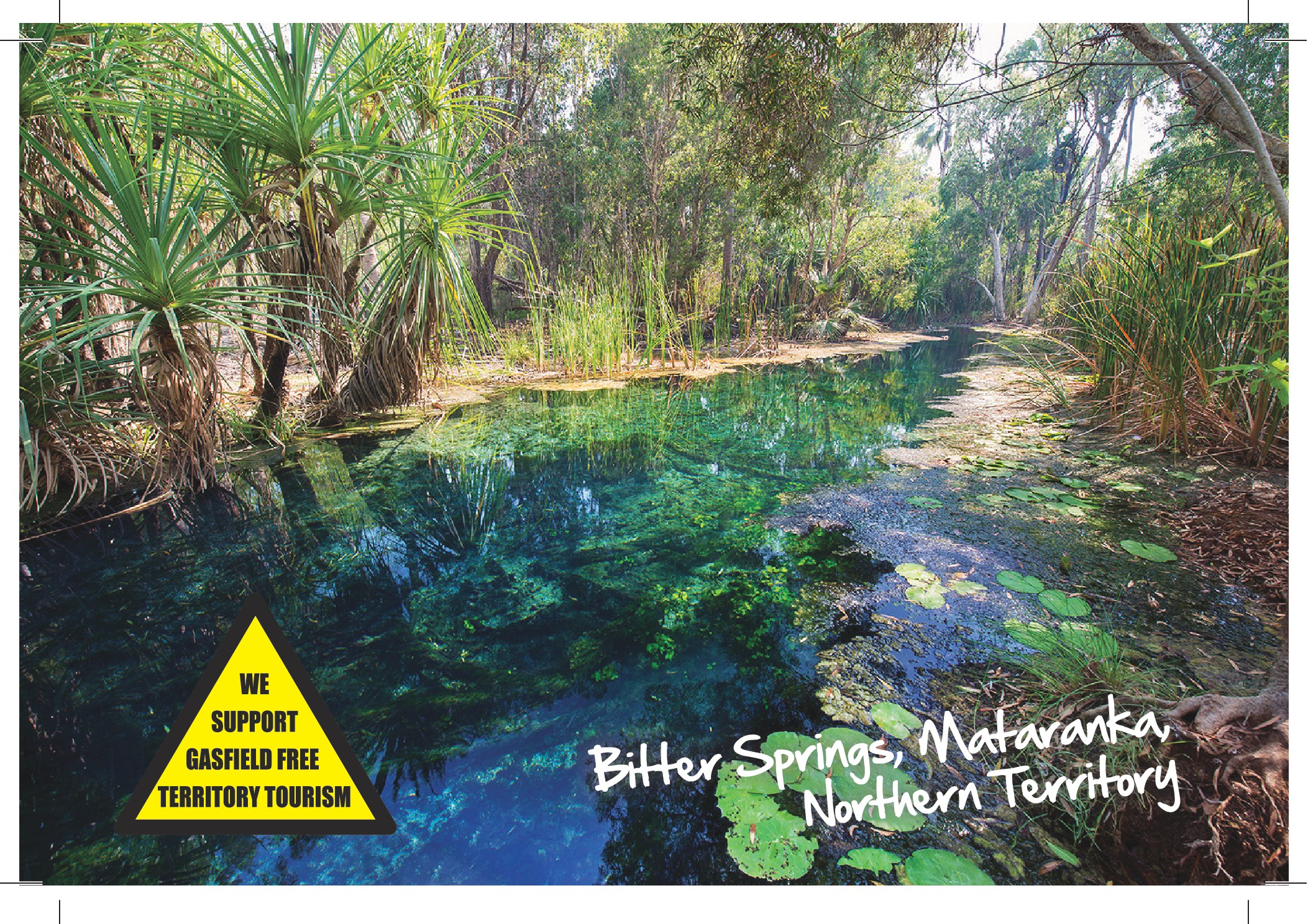 Gina's Fracking Plans Put Mataranka Hot Springs at Risk