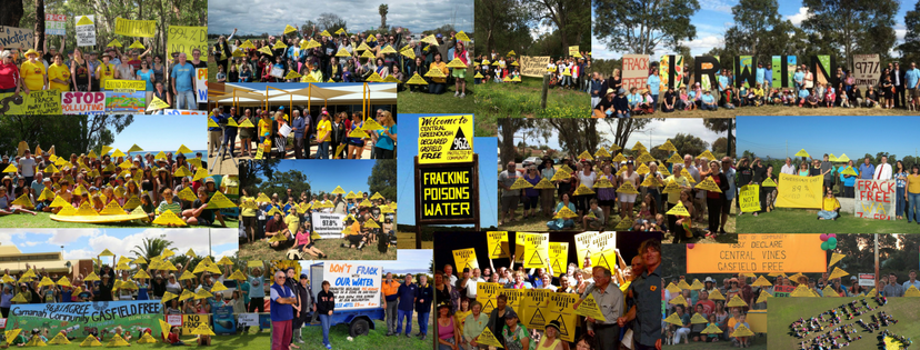 Frack Free WA action groups