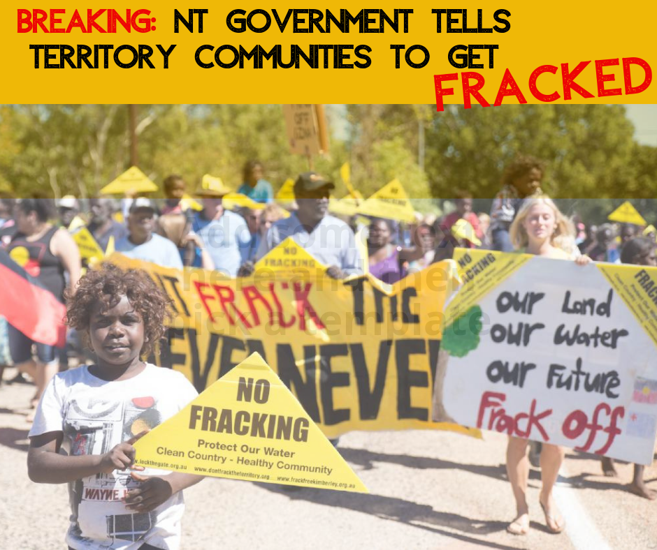 No-go fracking zones fracture Territory communities in two
