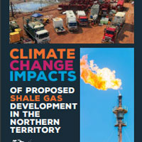 Climate Change Impacts of Proposed Shale Gas Development Logo
