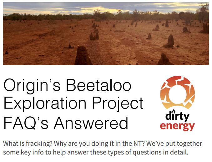 Origin Energy QandA Logo
